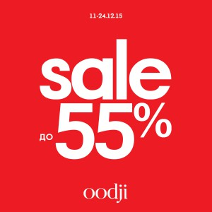sale up to 55% oodji
