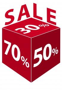 SALE-30%,-50%,-70%